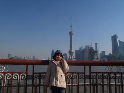 上海の晩秋