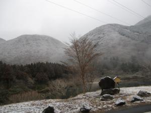 山の天気は変わり易い…