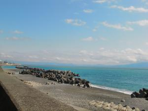 蒲原からの景色