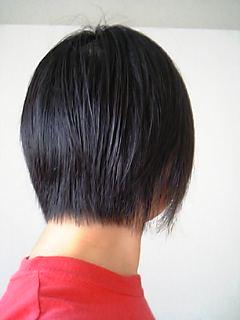 髪切った~♪