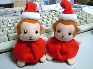 クリスマス仕様なおサル