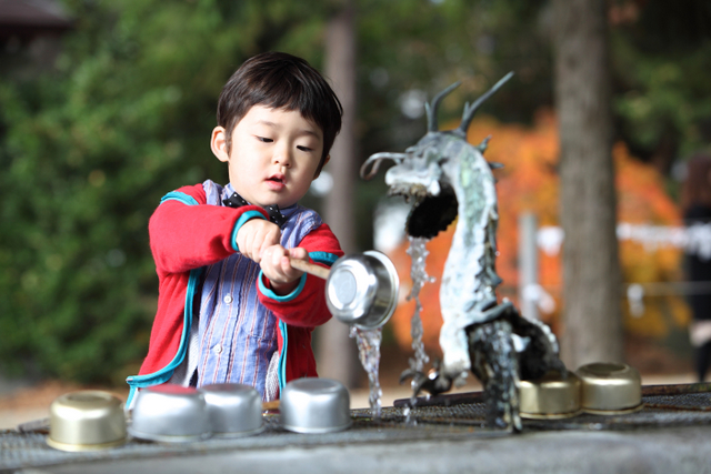 お宮参り 神社 出張撮影 ロケーション撮影 子ども写真 弘前市 平川市