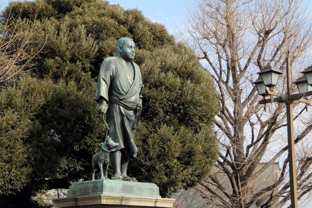 東京 上野 西郷隆盛