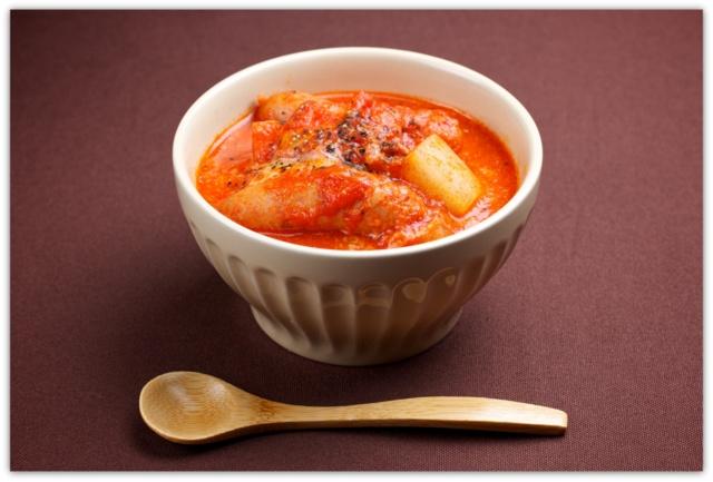 大根とウインナーのトマト煮