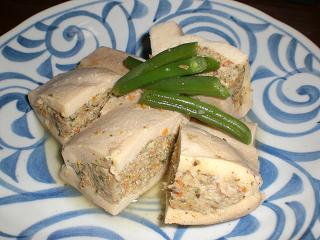高野豆腐肉詰め