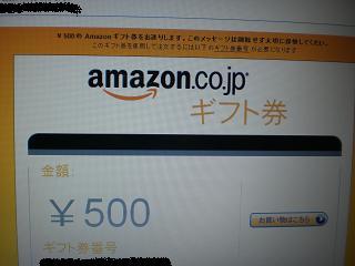 アマゾン500