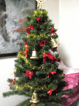 クリスマスツリー・・・おそー