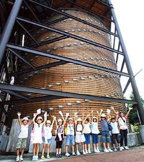 世界最大の醤油樽