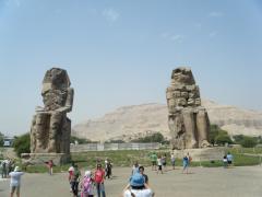 ヒプノセラピー スピリチュアルライフ エジプト ナイル川 ルクソール 世界遺産 メムノンの巨像