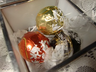 ヒプノセラピー スピリチュアルライフ ステンドグラス 天使 バレンタイン チョコレート ハート ボックス