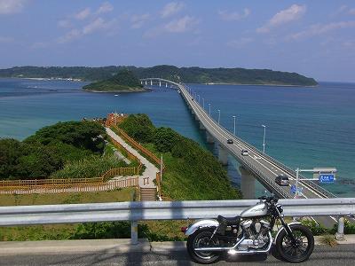 9:58角島大橋