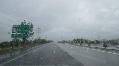 ②豪雨の北陸道