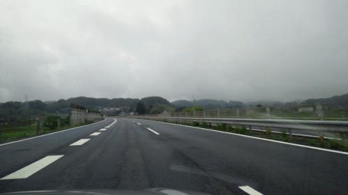 2中央高速もウェット