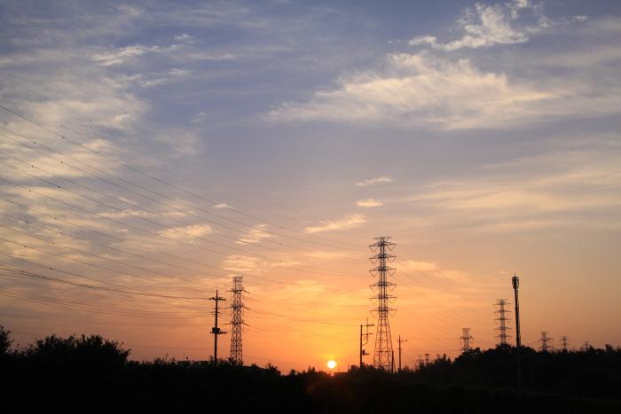 20110514農業地区の朝
