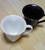 ハートのマグカップ