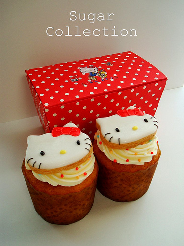 Kitty's cup cakes
