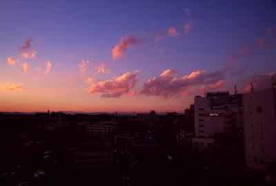 こういう色の空が好きです