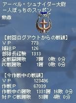 キャリ連5作戦目 PC戦績