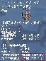 キャリ連 7作戦目 PC戦績