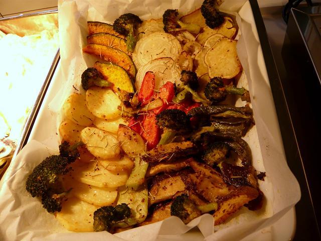 冬の焼野菜1