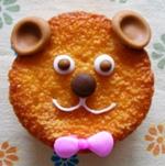 テディベアカップケーキデコレーション