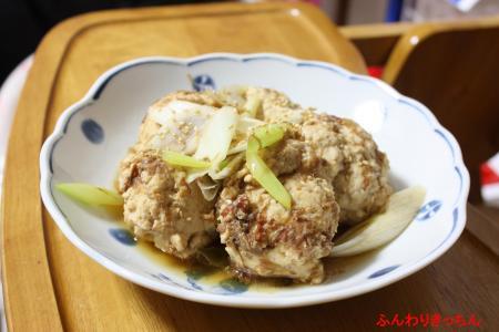 鶏団子のあっさり煮