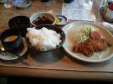 とんかつ定食(Sサイズ)@1,000円