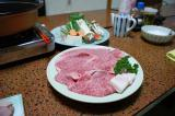 松阪牛のすき焼きなり♪