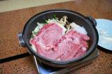 極上の松阪牛を鍋に投下♪