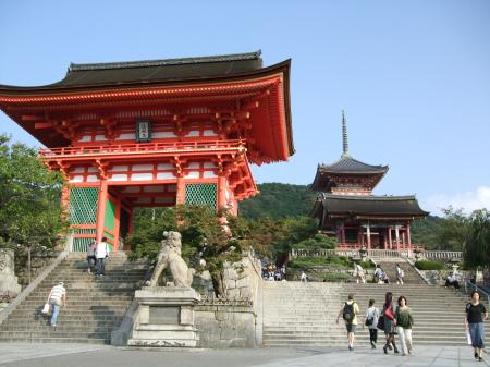14仁王門と三重塔