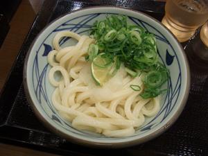 丸亀製麺青山オーバル店2