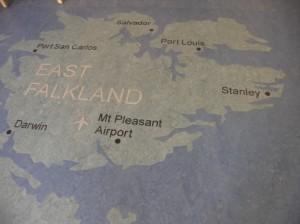フォークランド地図