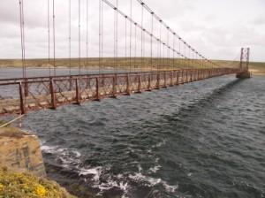 フォークランド/つり橋