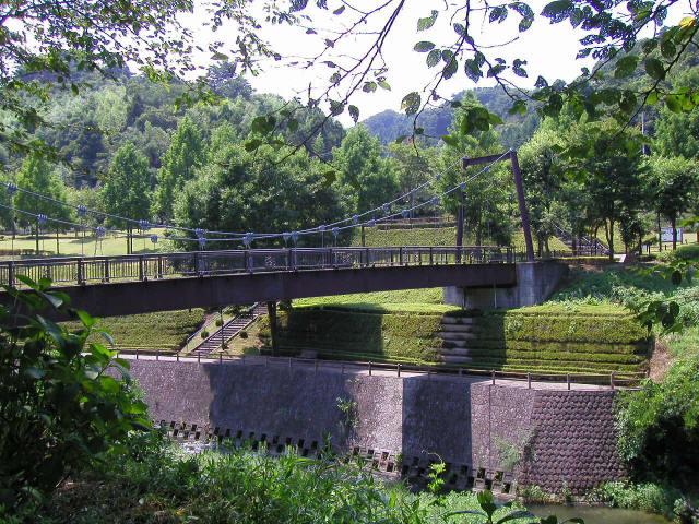 甘楽総合公園の吊橋4
