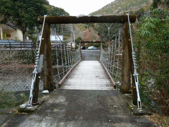 つりばし荘の吊橋03