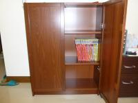 IKEAのBILLY本棚+扉完成