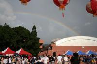日本人学校の虹