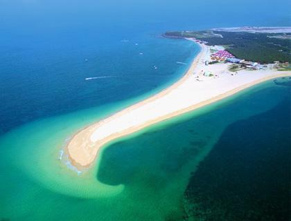 吉貝はとてもきれいな島です。