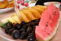 ラストは果物。