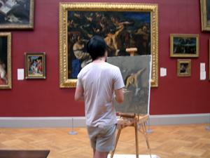 メトロポリタン美術館写生