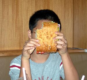 メトロポリタン美術館のサンドイッチ