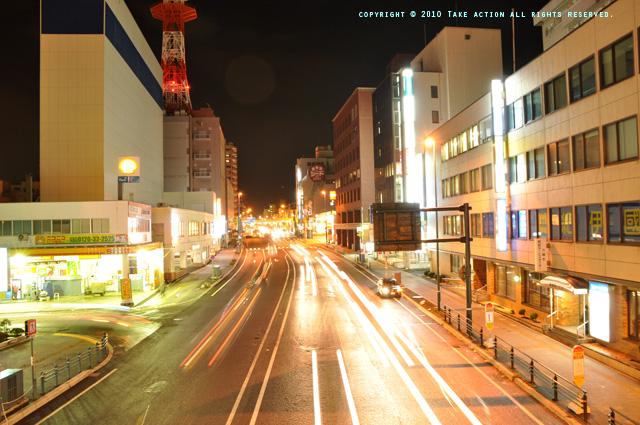 2010・12小樽駅歩道橋