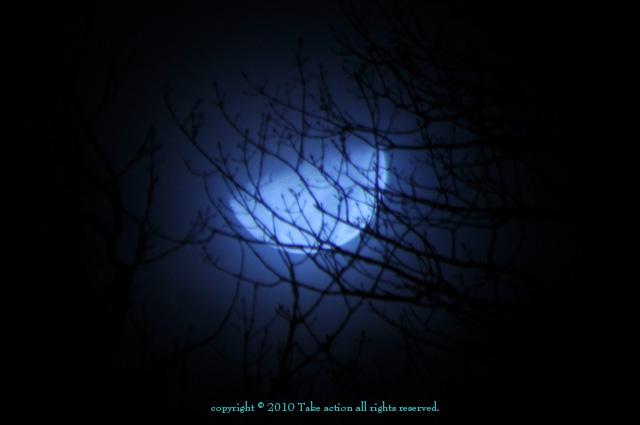 2010年12月14日ふたご座流星群撮影中