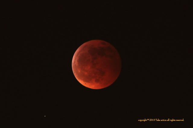 2010年12月21日皆既月食1