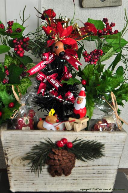 我が家のクリスマスツリー2010年版