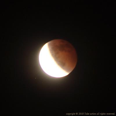2010年12月皆既月食5