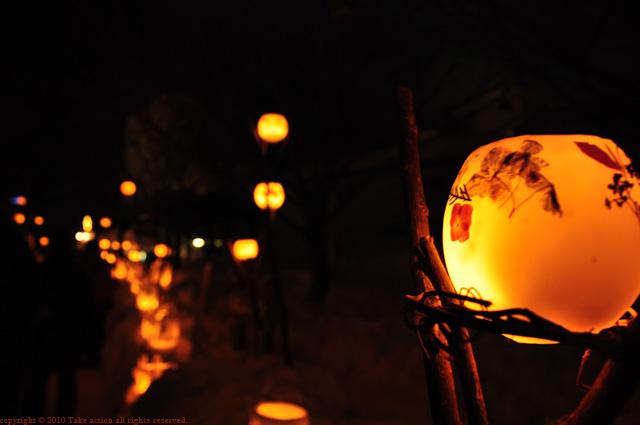2011年小樽雪あかりワックスボール1