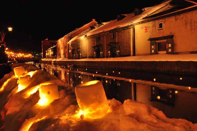 2011年小樽雪あかり運河