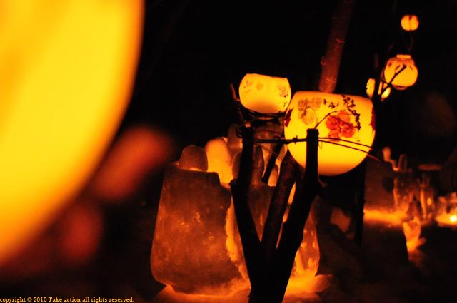 2011年小樽雪あかりワックスボール2