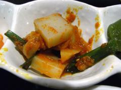 そば豆腐のナムル
